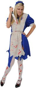 Zombieland Alice Halloween  Costume